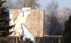 Frost, Sonnenschein und Ablösungserscheinungen. 30.12.2015
