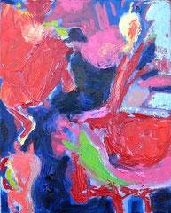 """""""Carlakobra"""", 50 x 40 cm, Öl auf Leinen, 2013"""