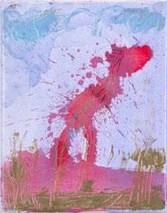 """""""O.T."""", 30 x 24 cm, Öl auf Leinen, 1996"""