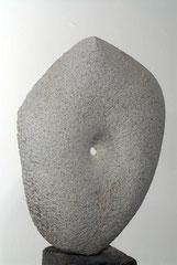 """""""Kleiner Durchbruch"""", Übung am Stein, Marmor, 2002/2005"""