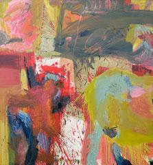 """Past"", 145 x 135 cm, Öl a Leinen, 1997"