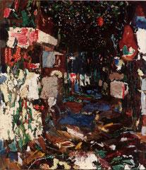 """""""Im Wald"""", 145 x125 cm, Öl auf Leinen, 1994"""