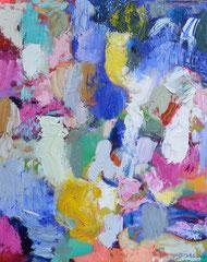 """""""Frei nach M."""", 100 x 80 cm, Öl auf Leinen, 2018"""