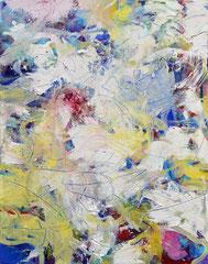 """""""Vorfreude"""", 100 x 70 cm, Öl auf Leinen, 2012"""