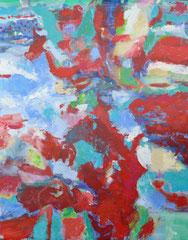 """Kelim"", 195 x 150, Acryl auf Leinen, 2017"
