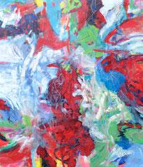 """""""O.T."""", 180 x 150 cm, Acryl auf Leinen, 2013"""