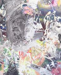 """""""Thilo 2"""", 60 x 50 cm, Öl auf Leinen, 1999"""