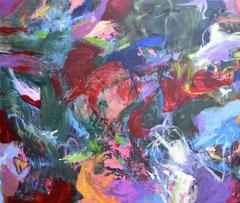 """Aktion M"", 180 x 150 cm, Öl auf Nessel, 2016"