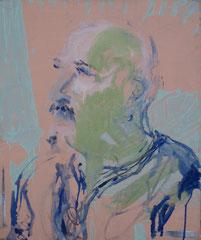 """""""Mr. Natrasch"""", 60 x 50 cm, Eitempera/Leinen, 1998"""