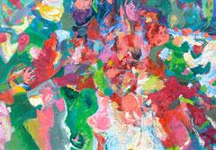 """""""Augenweide 14"""", 70 x 100 cm, Öl auf Leinen, 2014"""