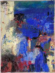 """""""Sand, Meer und so..."""", 40 x 30 cm, Öl auf Leinwand, 1995"""