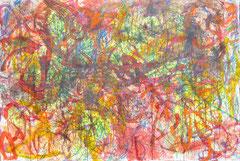 """""""Salzburg 90"""", 148 x 233 cm, Mischtechnik  Hartfaser, 1990"""