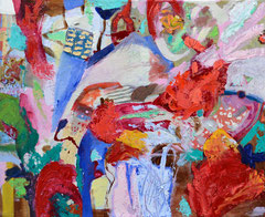 """Prinz"", 50 x 60 cm, Öl auf Leinen, 1999/2014"