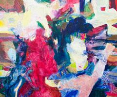 """""""RGB"""", 170 x 200  cm, Öl auf Leinen, 2019"""