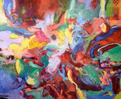"""""""O.T."""", 150 x 180 cm, Öl auf Nessel, 2016"""
