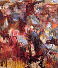 """""""Hohe Empfindung"""", 180 x 153 cm, Öl auf Leinen, 1998"""