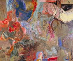 """""""Maler, Maler..."""", 195 x 230 cm, Öl auf Leinen, 1996/1997"""