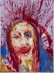 """""""Jessesmaria"""", 80 x 60 cm, Öl auf Leinen, 1994"""