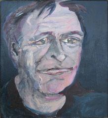 """""""Fips"""", 80 x 70 cm, Öl auf Leinen, 2007"""