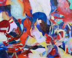 """""""Durchblick"""", 125 x 145 cm, Öl auf Leinen, 2015"""