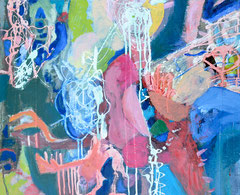 """""""Sommerregen"""", 40 x 50 cm, Öl auf Leinen, 2012"""