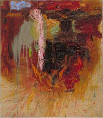 """""""Kopf,"""" 80 x 70 cm, Öl auf Leinen, 1997"""