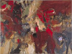 """""""Die Schlacht"""", ca. 200 x 230 cm, Öl auf Leinen, 1995"""