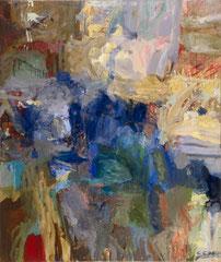 """""""Nirvana"""", 130 x 110 cm, Öl auf Leinen, 1996"""