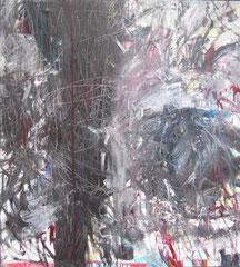 """""""Schnippler"""", 130 x 110 cm, Öl auf Leinwand, 2008"""