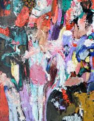 """Erika"", 100 x 80 cm, Öl auf Nessel, 2016"