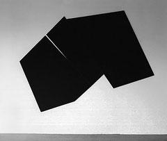 Colle de peau, pigments sur toile - 180x130x5 cm