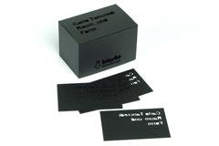 Luxus Visitenkarte Inkl Lasergravur Und Laserstanzung