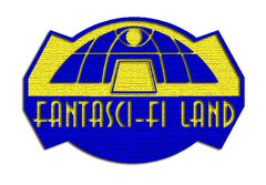 Logotype patch Fantasci-fi Land 01