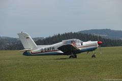 Die Morane ist in vielen Luftsportvereinen das treue Arbeitspferd
