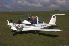 Manches Modellflugzeug ist größer als die Cri-Cri