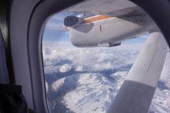 Flug nach Punta Arenas