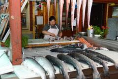 Fischmarkt von Puerto Montt, Chile