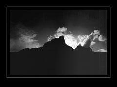 Abendstimmung über dem Jobo Lhaptshan, 6440m