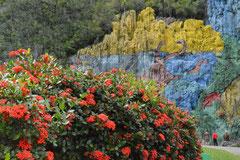 Mural de la pre-historia, Valle de Viñales