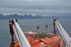 Schiffsreise entlang der südchilenischen Pazifikküste