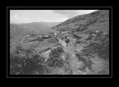 der Weg nach Sewa, 2360m
