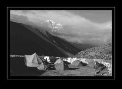 Lagerplatz Dingpoche, 4330m