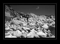 Aufstieg zur Alp Gokyo