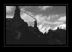 Gokyo Ri, 5483m mit Tabeche Peak, 6367m