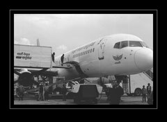 Boeing 757 der Royal Nepal Airlines