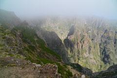 Weg zum Pico Ruvio