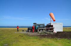 Flugplatz, Bleaker Island