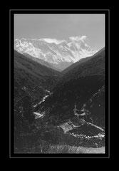 Nuptse, 7879m / Mt. Everest, 8848m / Lhotse, 8501m