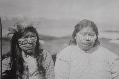 Yámana-Indianer vom Volk der Yagán, Museo Antropológico