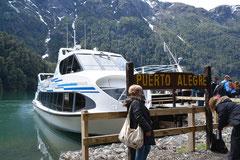 Puerto Frías, Grenze zu Chile